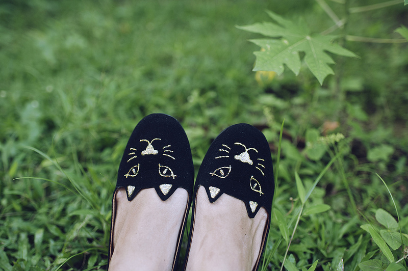 DIY: KITTY FLATS