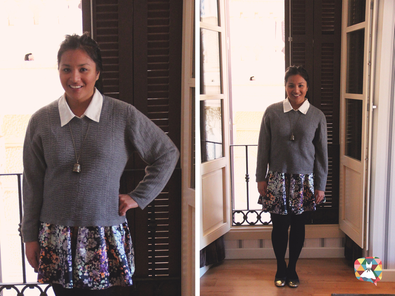 5 Ways To Style A Skater Skirt in Winter!